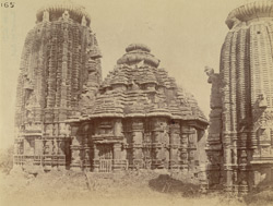 General view of the Chitrakarini Temple, Bhubaneshwar
